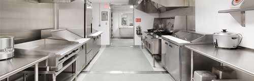 Gastro zařízení pro restaurace a hotelové kuchyně