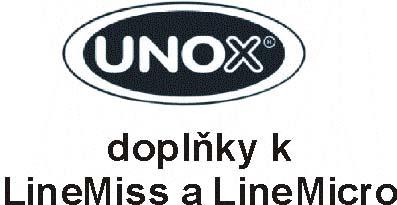 Doplňkové zařízení a příslušenství k pecím ShopPro, LineMiss a LineMicro