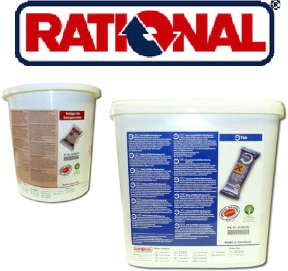 Čistící produkty a údržba konvektomatů Rational