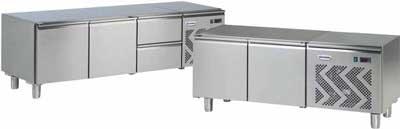 Chladené podstavy pod modulárne varné zariadenia