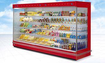 Chlazené vitríny pro supermarkety