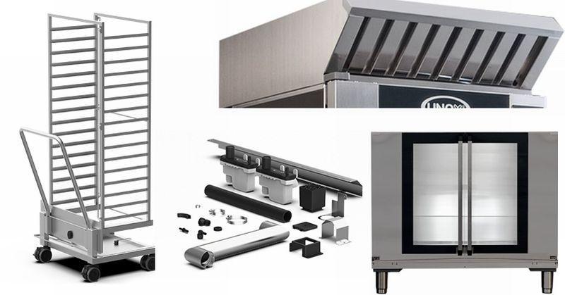 Doplnkové zariadenia a príslušenstvo pecí BakerTop