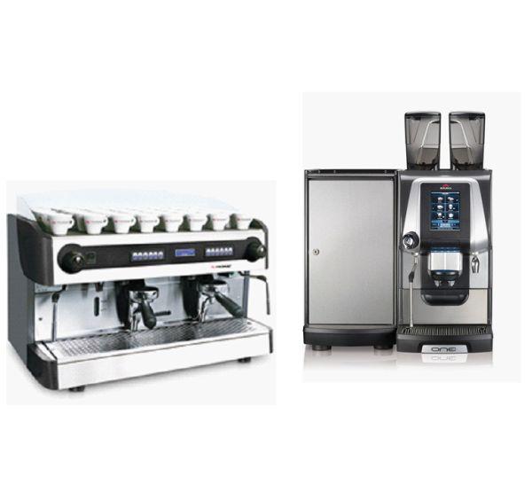 Kávovary espresso profesionálne