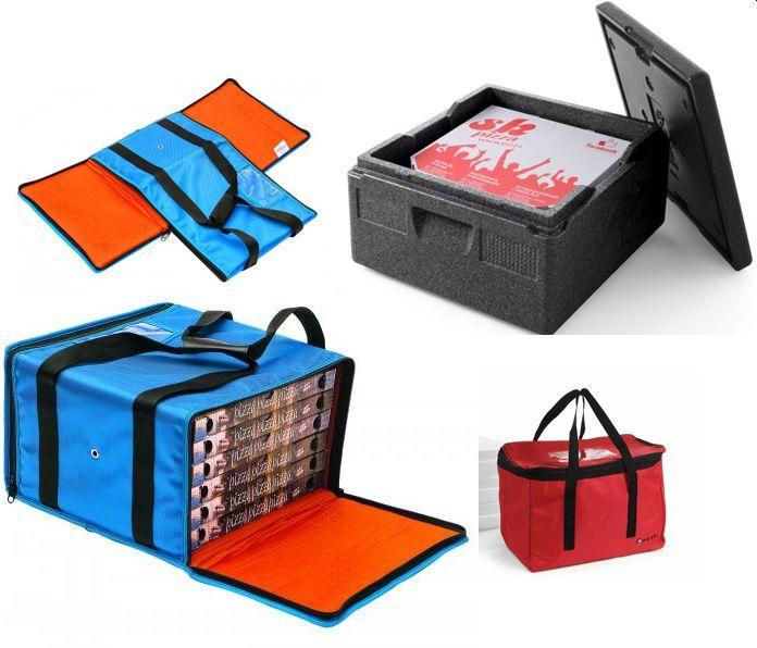 Termoboxy, tašky na pizzu
