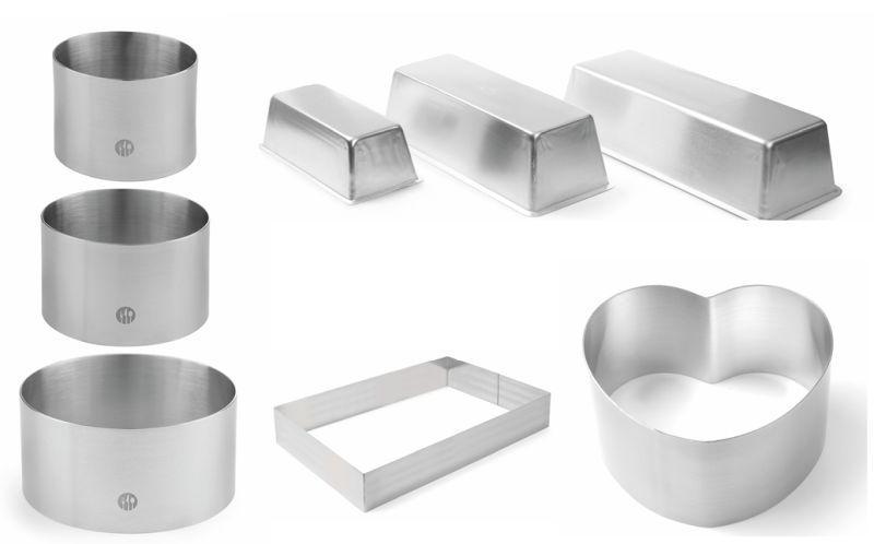 Formy kovové, ráfiky