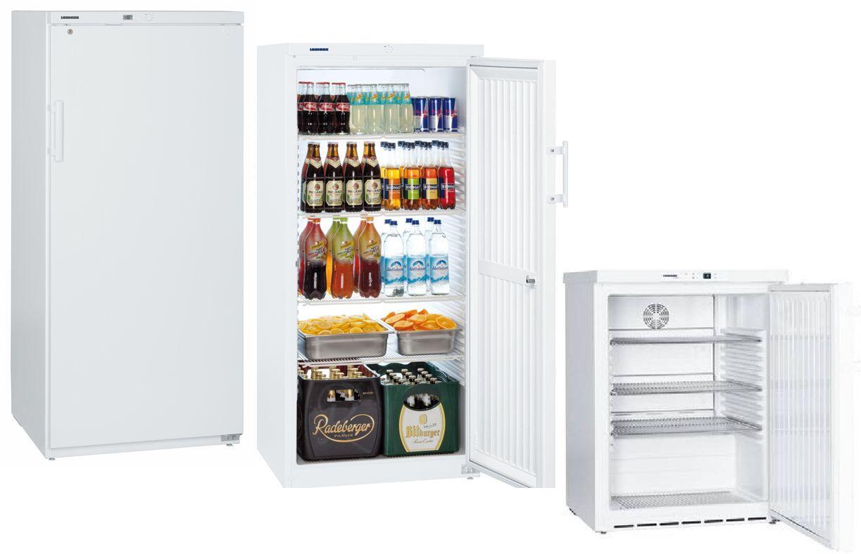 Chladiace skrine biele