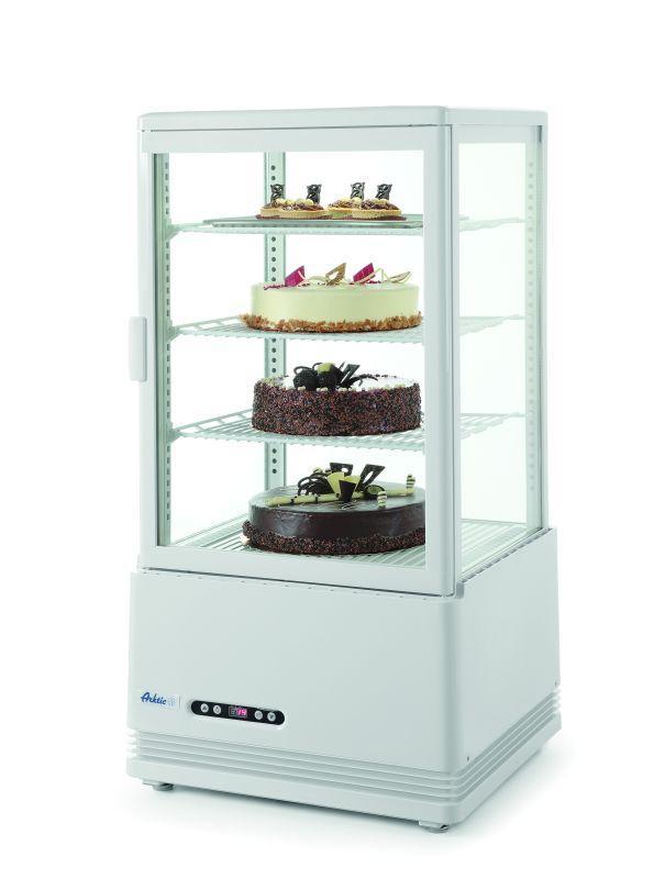 Stolné chladiace vitriny