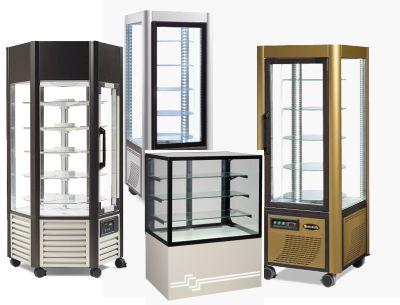 Vitríny chladiace na zákusky