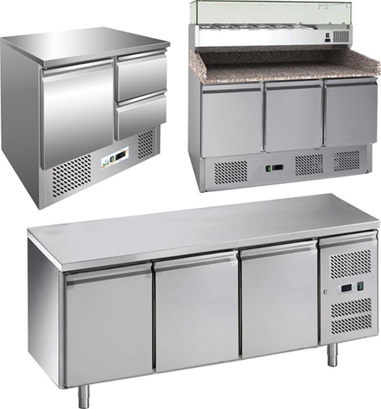Chladiace  a mraziace pracovné stoly